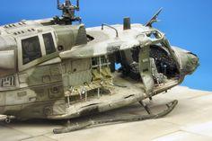 Bell Huey 1/72 Scale Model