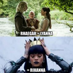 Rihanna is the one true heir to the Iron Throne confirmed!