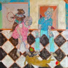 Original Geometric Painting by Szabina Gore Original Art, Original Paintings, Geometric Painting, Figurative Art, Buy Art, Saatchi Art, Color Portrait, Modern Surrealism, Canvas Art