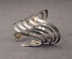 Silver bracelet by Alexander Calder, ca.1942