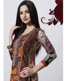 aa9f181344ea7 Tunique Indienne Multicolore - Taille 38 Tout à 15€ pour  DIWALI Offrez des  cadeaux originaux avec Narkis Fashion