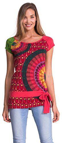 Desigual Women s Knitted T-Shirt Short Sleeves b87a000c29