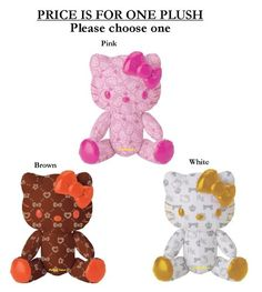 Hello Kitty Assorted Pattern 8-Inch Plush
