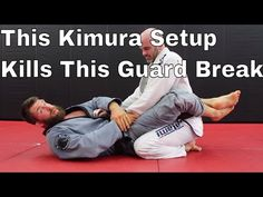 Powerful Kimura Setup for White Belts to Stop Basic Guard Break - YouTube