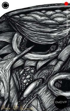 🔴SMBN 0003 - Dibujo Digital.  🔺  #CarlosDeVasconcelos #CMDVF #Ilustración #ArteDigital #Diseño #Arte #Artista #BlancoyNegro #Dibujo / #Illustration #DigitalArt #Design #Art #ArtWork #Artist #BlackAndWhite #bw #bnw #Desenho #Drawing #Cerebro #Brain Illustration, Animation, Abstract, Drawings, Artwork, Pictures, Painting, Image, Brain