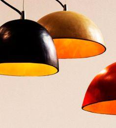 Moderno : Lámpara 37JLd2 de cuero hecha a mano