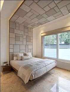 Creative Ceiling Designs For Your Master Bedroom - Ceiling Design House Ceiling Design, Bedroom False Ceiling Design, Bedroom Furniture Design, Bedroom Ceiling, Modern Bedroom Design, Master Bedroom Design, Home Decor Bedroom, Plafond Design, Modern Master Bedroom