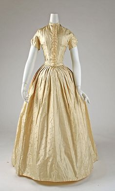 1841-6, a little wrinkly, but polka dots and ruffles! cut it short and I could imagine this a century later
