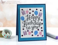 Hey everyone! I'm so excited to join in for Catherine Pooler's Stamp of Approval Young At Heart collection bloghop! Haven't heard of SOA before? Here is a quick overview - it's a beautifully curate...