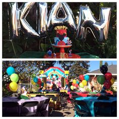 Mickey Mouse ClubHouse | Mylar Balloons | First Birthday by @Ismerai Dominguez