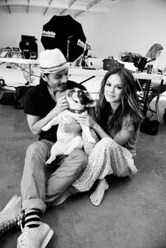 'Soy [the dog] is the best model, she shows us all up!' - Rachel BilsonPrinted Pant, Isabel Marant#inline_18