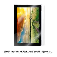 Clear LCD PET Film Anti-Scratch / Touch Responsive Screen Protector Cover for Acer Aspire Switch 10 (SW5-012) Tablet Accessories