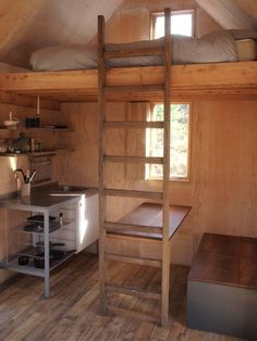 .tiny cabin great use of space....