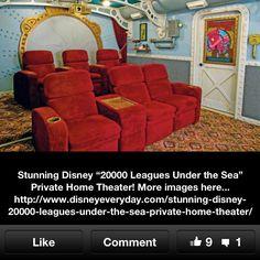 Cool media room idea!
