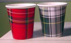Tartan Plaid Hot/Cold Paper Party Cups - Set of 12 via Etsy. Harpeth Hall needs these! Plaid Wedding, Rustic Wedding, Wedding Ideas, Cabin Wedding, Fall Wedding, Tartan Plaid, Plaid Flannel, Fall Picnic, Summer Picnic