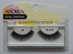False Eyelashes and Adhesives: (Lot Of 6) Andrea Modlash #33 False Eyelashes Fake Lashes Eyelash Lash Black BUY IT NOW ONLY: $117.49