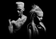"""Die Antwoord (Afrikaans for """"the answer""""), the South African rap-rave group famous for their unconventional style, has attracted millions of fans all over.."""