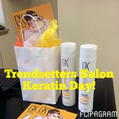▶ Play #flipagram Video of Trendsetters Salon Keratin Day!  Beautiful Before and Afters  CHECK OUT our #flipagram of #Trendsetters Salon Keratin Day! Book YOUR Keratin TODAY!  Buh-Bye Frizz ♫ Music: Pharrell Williams - Come Get It Bae #keratin #gkhair #depaqualesalonsystems #frizz #hair #beforeandafter - http://flipagram.com/f/FV2Rnfslv3