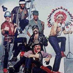 The Village People, what were we thinking! Although YMCA became a anthem along with dance moves. Rock Music History, Disco Funk, The Power Of Music, Village People, Pop Rock Bands, Dance Moves, Back In The Day, Live Music, Doctor Who