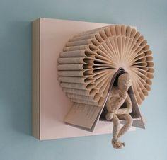 Blue Velvet Chair: book art
