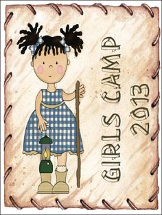 Didi @ Relief Society: Girls Camp 2013 - Binder Cover