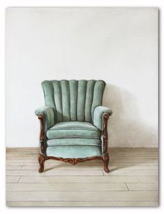 Chair, 2011, acrylic & oil on masonite by Holly farrell