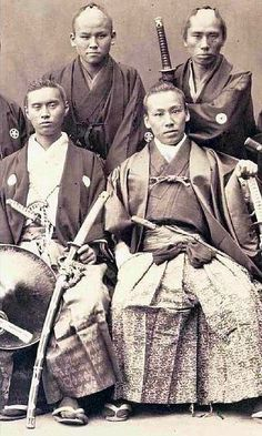 "the-history-of-fighting: "" Samurai Warrior Groups """