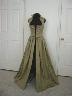Sage Renaissance Over Gown Dress Made to Fit you by desree10, $130.00