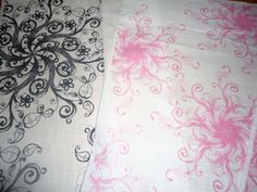 How to Print on Fabric Using an Inkjet Printer - includes how to set the ink so the fabric is washable!