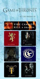 """Sæt med 7 magneter fra TV hit serien """"Game of Thrones"""". Hver magnet ah illustrationer fra serien. Game Of Thrones Set, Game Of Thrones Merchandise, Dragon Games, Hbo Series, Pop Vinyl, Saga, Magnets, Geek Stuff, Film"""