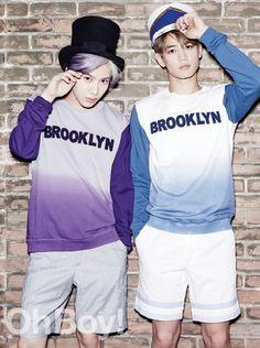 Minho and Tae Min - Oh Boy! Magazine Vol.57