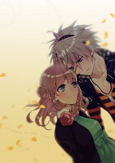 Fan Art of Toma x Heroine for fans of amnesia アムネシア.