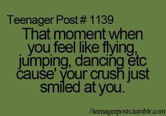 teenager posts the awkward moment when your crush walks in the room ........... - Google Search