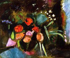 Flowers / Henri Matisse - 1906