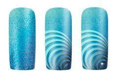 Nailart Anleitung Blue Illusion Nails