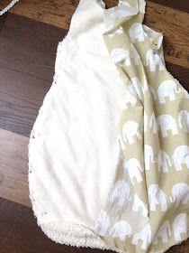 Babyschlafsack, Babyschlafsack selber nähen