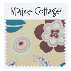 Fabrics by Maine Cottage - Rambler:  Ivory
