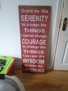 Serenity prayer #quote #serenity