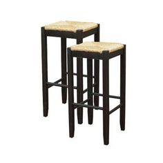 ahb rattan backless bar stool set of 2 1199 antalyaa bar stool
