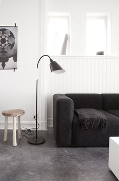 Minimal home of Jonas Bjerre-Poulsen - via Coco Lapine blog