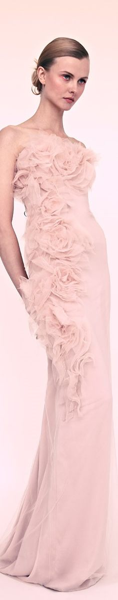 Marchesa Beautiful Gowns, Beautiful Outfits, Cool Outfits, Fashionable Outfits, Beautiful Things, Armani Prive, The Dress, Pink Dress, Nice Dresses