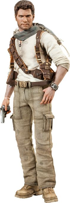 Nathan Drake Sixth Scale Figure by Sideshow Collectibles #uncharted #toys