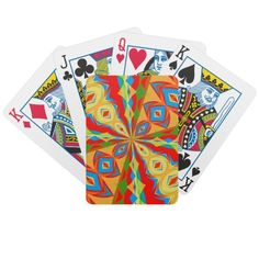 Bicycle Playing Cards with Fun, Colorful Design