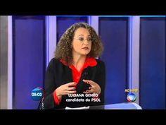 Jornal da Record entrevista Luciana Genro