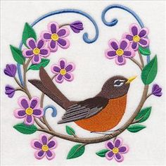 """Embroidery Library! - Free Machine Embroidery Designs- 5 sizes avail 4"""",5"""",6"""",7"""" & 8"""""""
