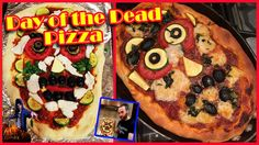 How to Make A Day of the Dead Pizza (Vegan)