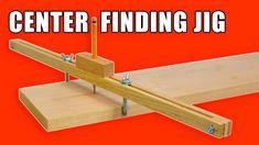 Adjustable Center Finder Jig / Centre Marking Jig