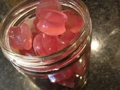 Homemade gummy bears... This recipe is really good