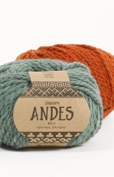Barevnice příze DROPS Andes ~ DROPS Design Drops Design 441f783c61
