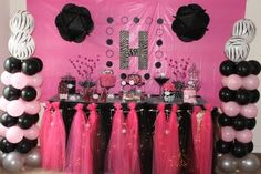 BMoore Celebrations: Haley's GlamFunk Party